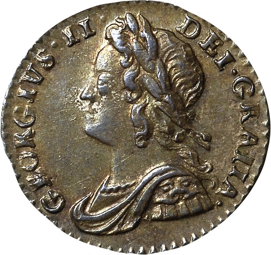 MS-60 - Penny 1729 to 1760 - George II